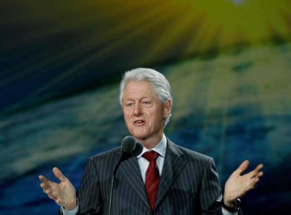 Bill Clinton, lode in onore di Abraham Lincoln in occasione dei Golden Globes