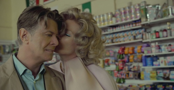 David Bowie, videoclip in coppia con Tilda Swinton