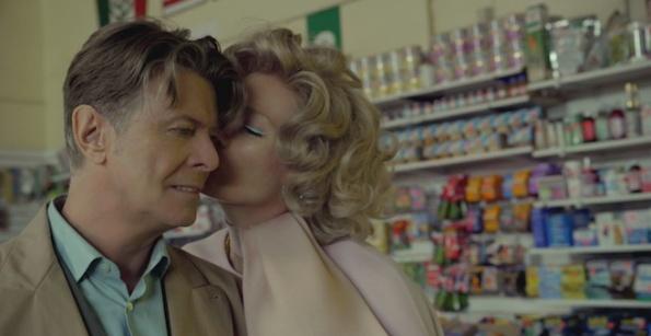 David Bowie, videoclip in coppia con Tilda Swinton