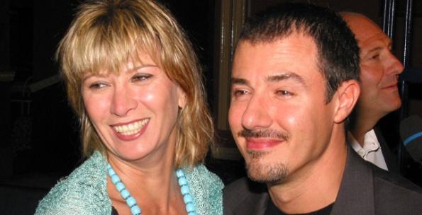 Giampiero Ingrassia con la moglie Barbara