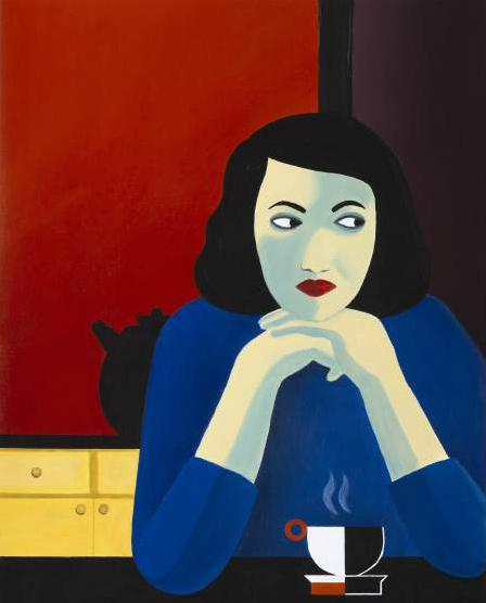 Marjane Satrapi Peintures, exposition de ses talents artistiques à la Galerie Jerome De Noirmont de Paris