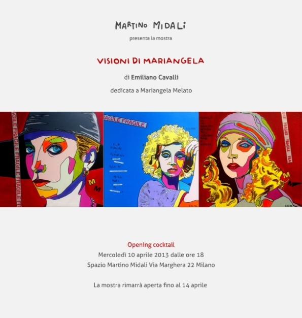 Visioni di Mariangela, mostra dedicata a Mariangela Melato presso lo Spazio Martino Midali a Milano