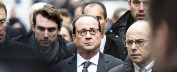 Parigi Charlie Hebdo Hollande