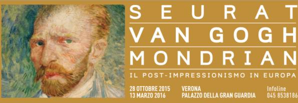 Seurat-Van Gogh-Mondrian. Il post-impressionismo in Europa