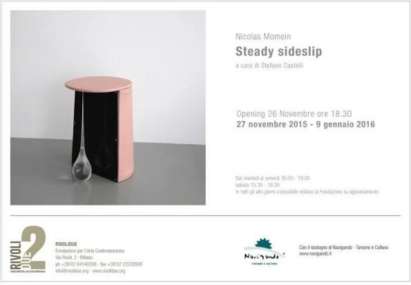 Steady sideslip | Personale di Nicolas Momein