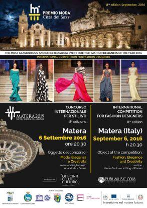 Locandina Premio Moda Citta d ei Sassi 6 settembre 2016-w900-h900