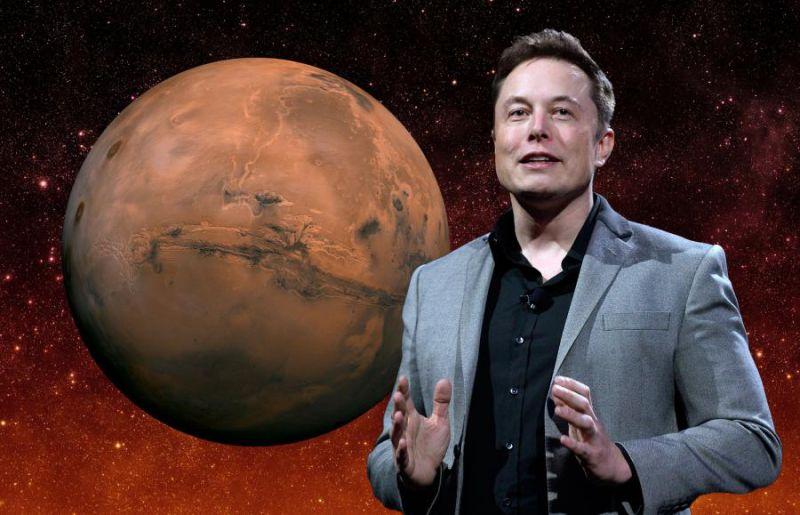 Elon Musk, bombardare Marte